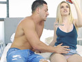 Crystal Young takes internal creampie