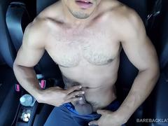 Young Latino Marco Cruz Jerking Off