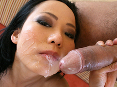 Niya yu mouth fucked and facialized segment