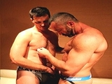 Drew and Tyson - Aggressive Top Fucks Muscled Bottom Pt1 X
