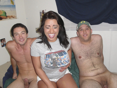Naughty coeds hungry for one hot fuck