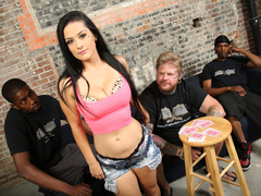 Katrina Jade Lets Her Hubby Watch Her Fuck 2 Black Guys