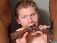 Dallas Wood Ends Up Getting Fucked By Black Guys