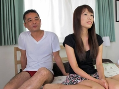 Asian slut gets to be fucked and she loves the session