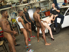 McKenzie Lee Gets Gangbanged - Cuckold Sessions
