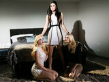 Samantha Rone, India Summer and Charlotte Stokely