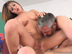 Jojo Kiss Gets Fucked By a Real Hard Working Man