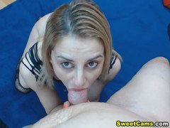 Massive Blowjob And Intense Hard Fucking on Cam